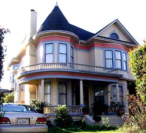 Victorian Home at 217 Mission Street, Santa Cruz, California