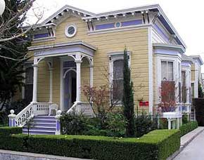 Italianate Victorian at 235 Walnut Avenue, Santa Cruz, California