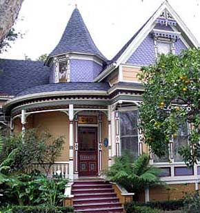 Victorian Home at 240 Walnut Avenue, Santa Cruz, California