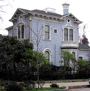 Victorian Home, The Cope House, Santa Cruz, California
