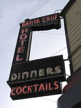 Old Santa Cruz Hotel Building