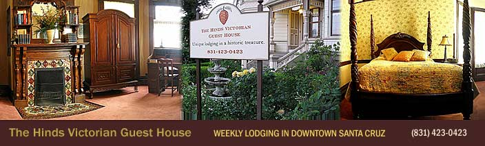 The Hinds Victorian Guest House in Santa Cruz, CA