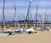 Catamarans, Santa Cruz Harbor
