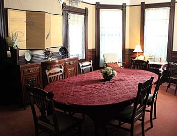 Santa Cruz Dining Room, Hinds House