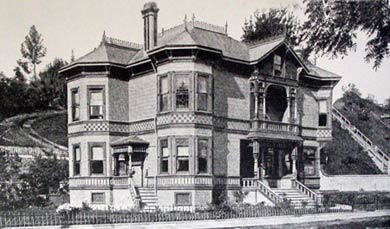 Hinds House historic photo from 1880's