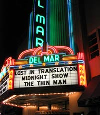 Movie Marquee, Santa Cruz, California