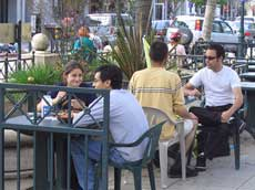 Santa Cruz Outdoor Dining