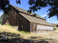 Barn at UC Santa Cruz, California